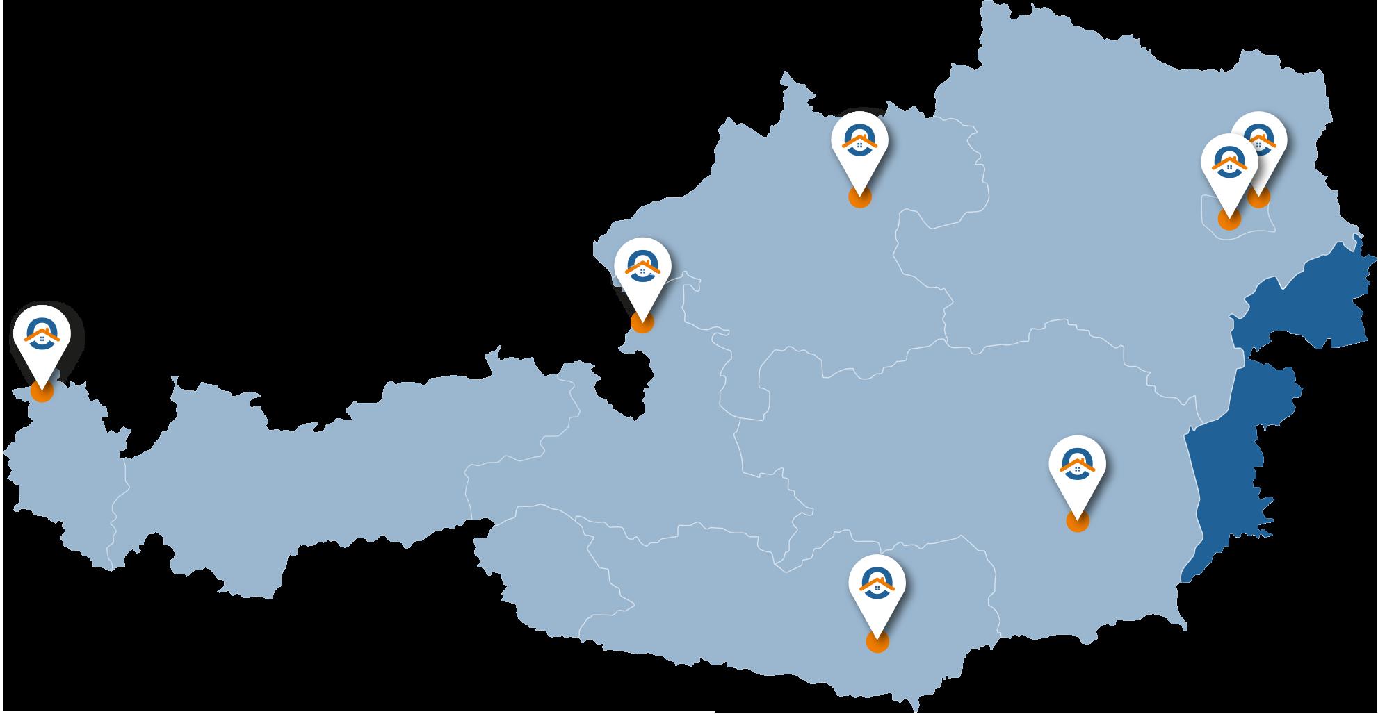 Oesterreich-Karte-Bgl