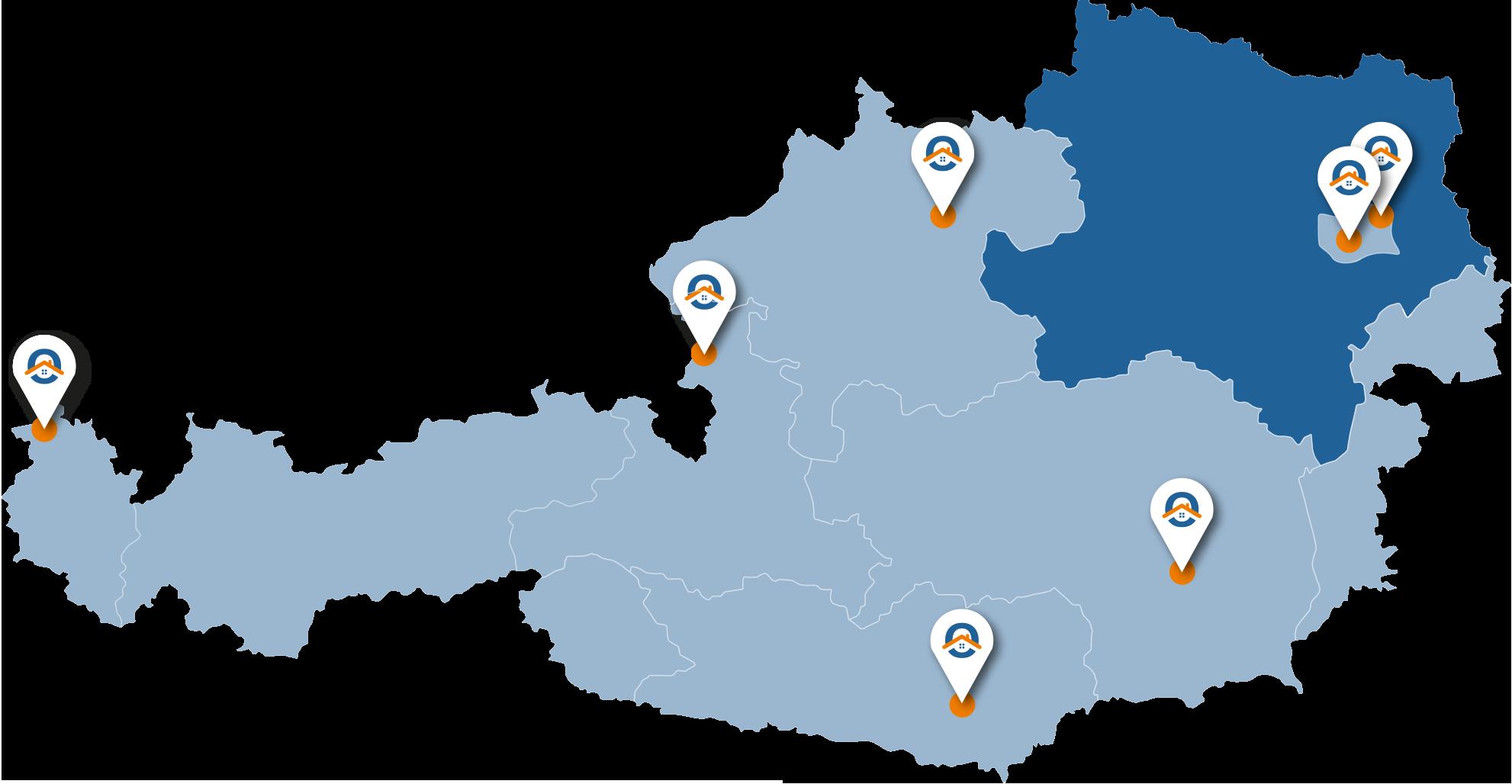 Oesterreich-Karte-NOe
