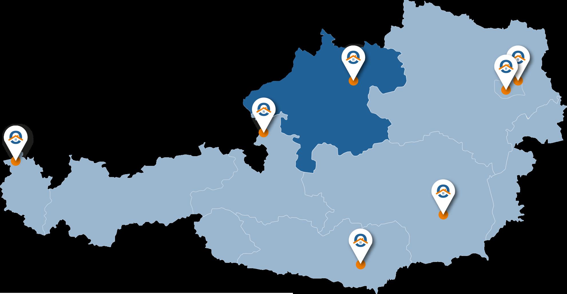 Oesterreich-Karte-OOe