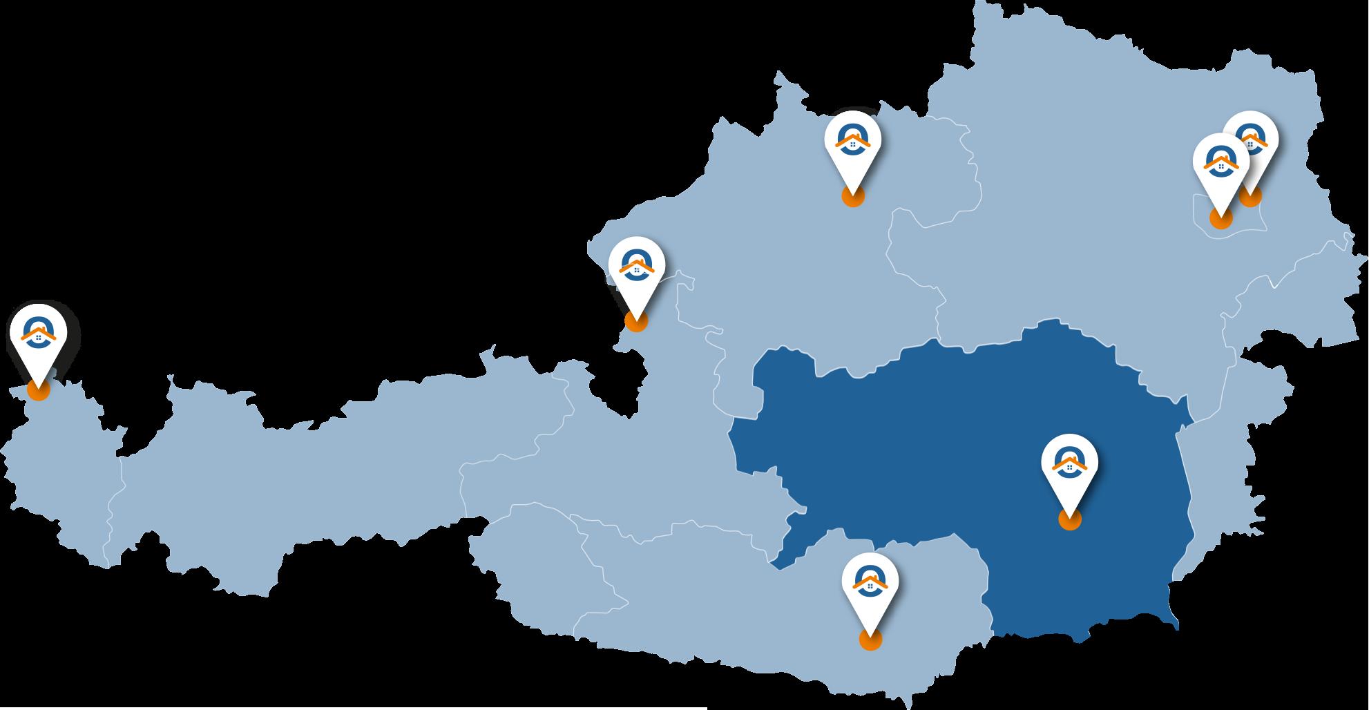 Oesterreich-Karte-Stmk